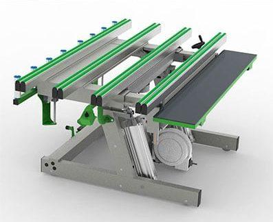 Mesa cajón persiana para carpinteria de aluminio